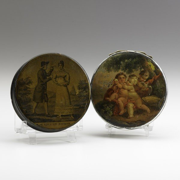 11: TWO FRENCH SNUFF BOXES