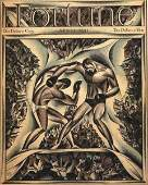 1061: EARLY 20TH C. FRAMED MAGAZINE COVERS