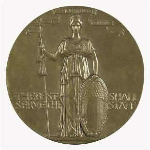 8: Augustus Saint-Gaudens (Irish/American, 1848-1907)
