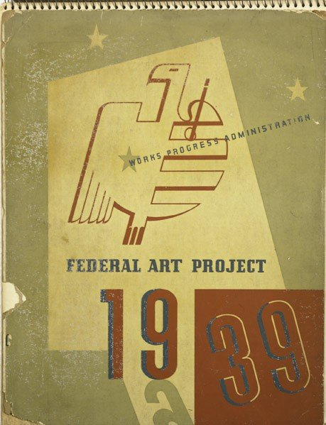 19: Various Artists (American, 20th C.) Works Progress