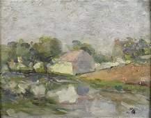 53: Milton Avery (American, 1885-1965) Untitled (Pink