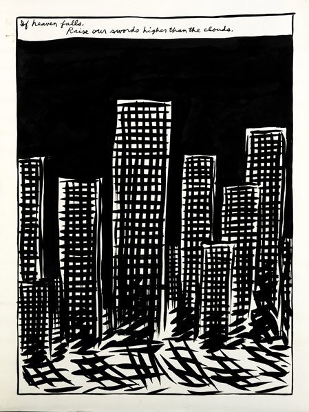 642: Raymond Pettibon (American, b. 1957) Untitled (If