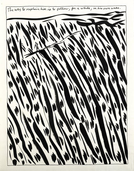 644: Raymond Pettibon (American, b. 1957) Untitled (The
