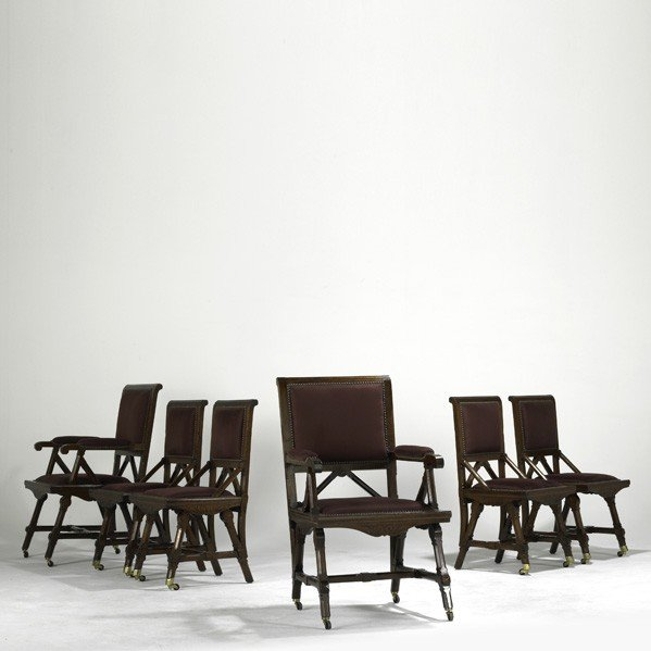 7: KIMBEL & CABUS (Attr.); Six dining chairs