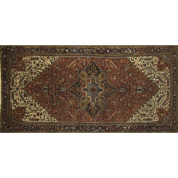 PERSIAN HERIZ; Large room-size rug