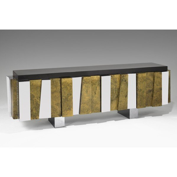 1007: PAUL EVANS; DIRECTIONAL; Faceted cabinet
