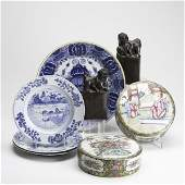 780 19TH C POTTERY AND PORCELAIN