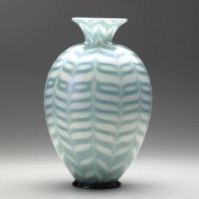 CARLO SCARPA; AVEM CAPELLIN; Fenici Glass Vase
