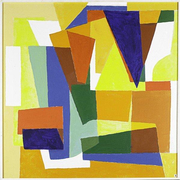 599: DONALD DESKEY: Oil painting