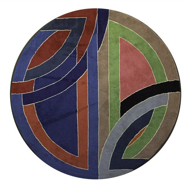 602: FRANK STELLA; Wool tapestry