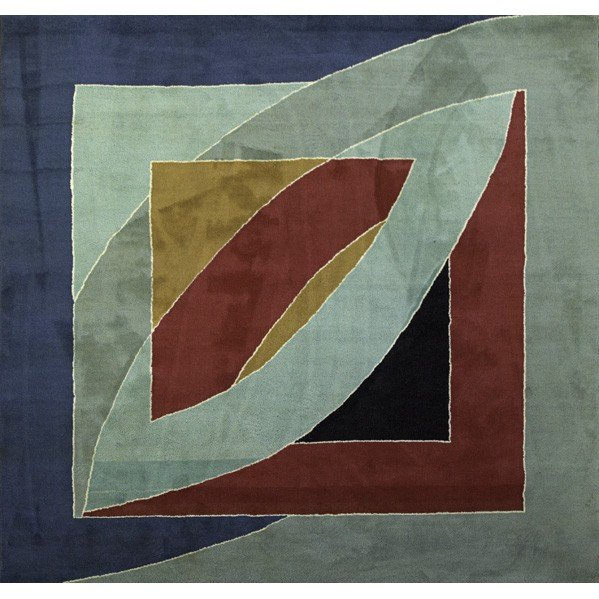 603: FRANK STELLA; Wool tapestry