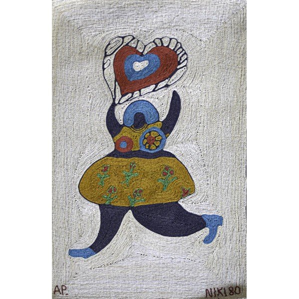 604: AFTER NIKI DE SAINT PHALLE; Tapestry
