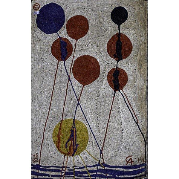 605: AFTER ALEXANDER CALDER; Tapestry