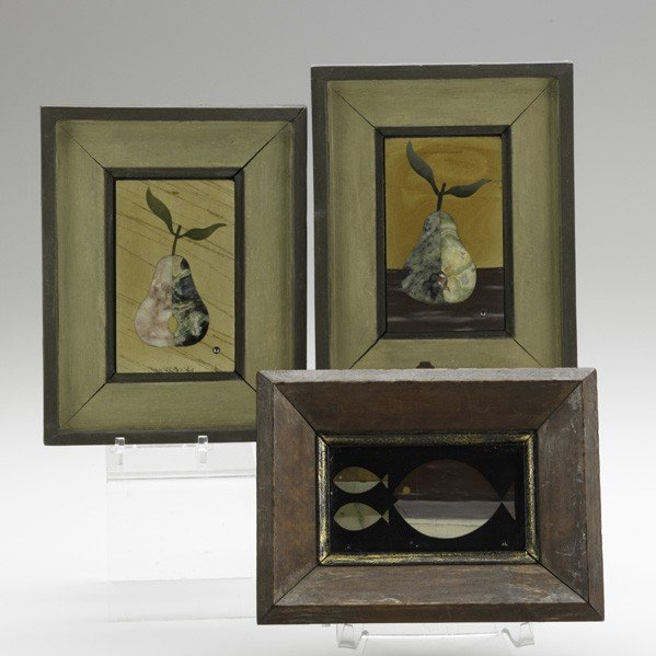 609: RICHARD BLOW; MONTICI; Three plaques