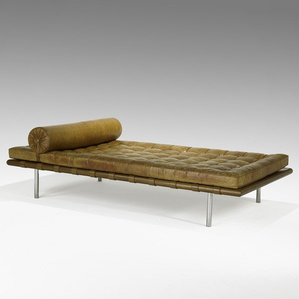 924: MIES VAN DER ROHE; Daybed