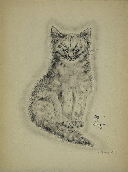 1: Leonard Tsugoharu Foujita (French/Japanese, 1886-1
