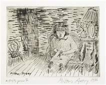 2: Milton Avery (American, 1885-1965) Untitled, 1936