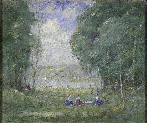 7: Joseph Henry Boston (American, 1860-1954) Untitled