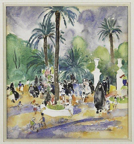 8: Martha Walter (American, 1875-1976) Murillo Garden