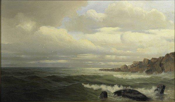 16: Frank Knox Morton Rehn (American, 1848-1914) Untit