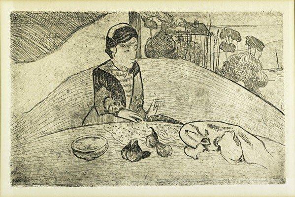 19: Paul Gauguin (French, 1848-1903) & Armand