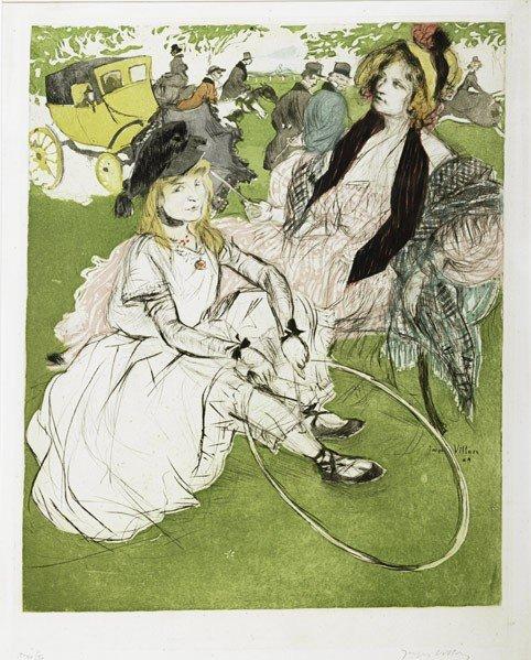 20: Jacques Villon (French, 1875-1963) Autre Temps: 18