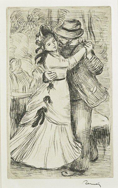 23: Pierre-Auguste Renoir (French, 1841-1919) La Danse