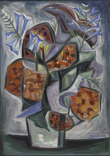 83: Werner Drewes (American, 1899-1985) The Flower Bou