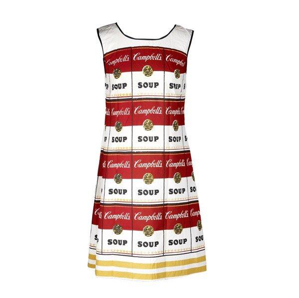 531: Andy Warhol (American, 1928-1987) The Souper Dress