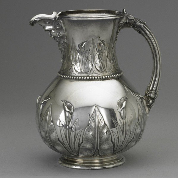 3: TIFFANY & CO. SILVER WATER PITCHER