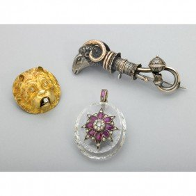 2014: THREE UNUSUAL VICTORIAN JEWELS