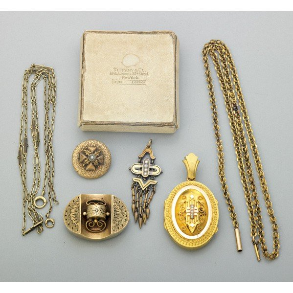 2019: TIFFANY & CO. AND OTHER VICTORIAN GOLD JEWELRY