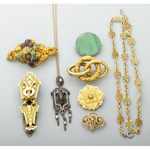 2020: VICTORIAN JEWELRY COLLECTION