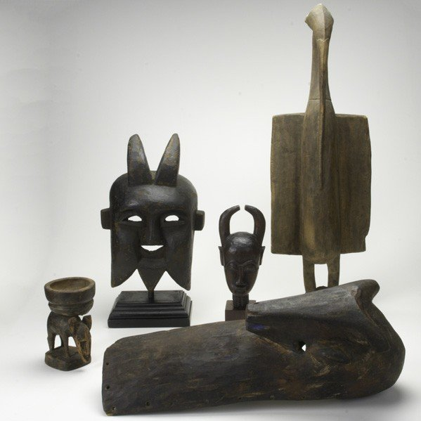 296: AFRICAN CARVED WOOD
