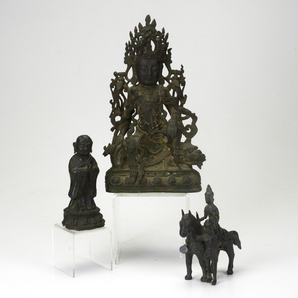 319: ASIAN DEITY OR BURIAL FIGURES