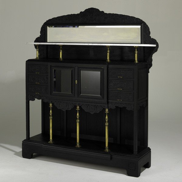 26: HERTER BROTHERS; Large cabinet - 2