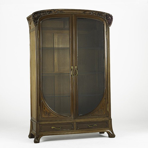 30: LOUIS MAJORELLE; Large armoire