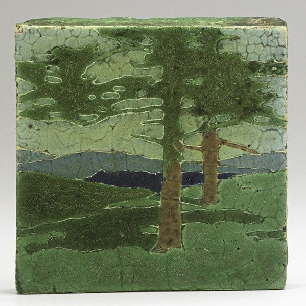 41: GRUEBY; Tile ''The Pines''