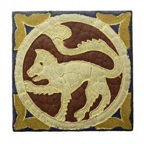 GRUEBY; Tile Of Byzantine Series