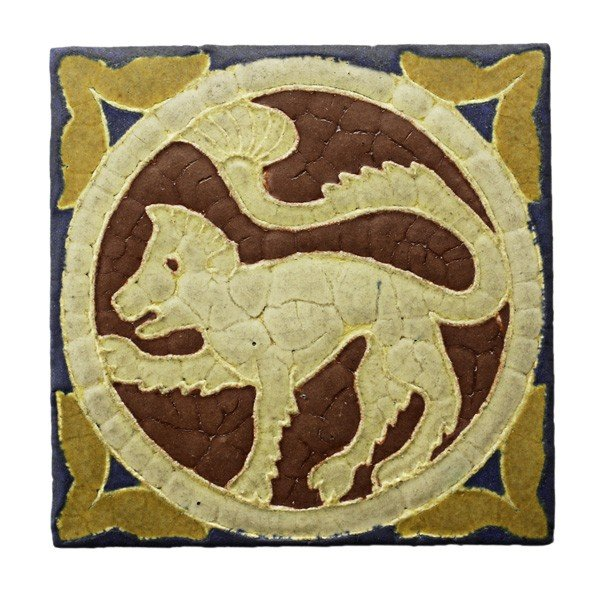 42: GRUEBY; Tile of Byzantine series