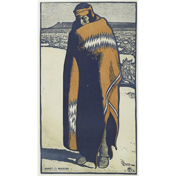 269: MAYNARD DIXON; Sunset magazine; Large poster