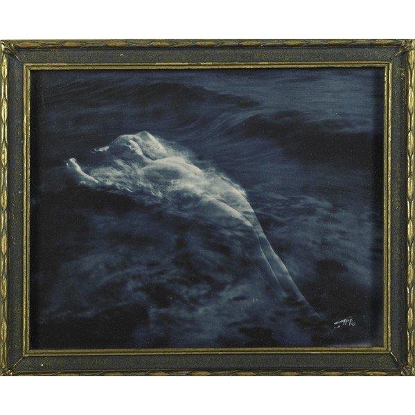 278: EDWARD CURTIS; Photograph, ''Floating Aphrodite''