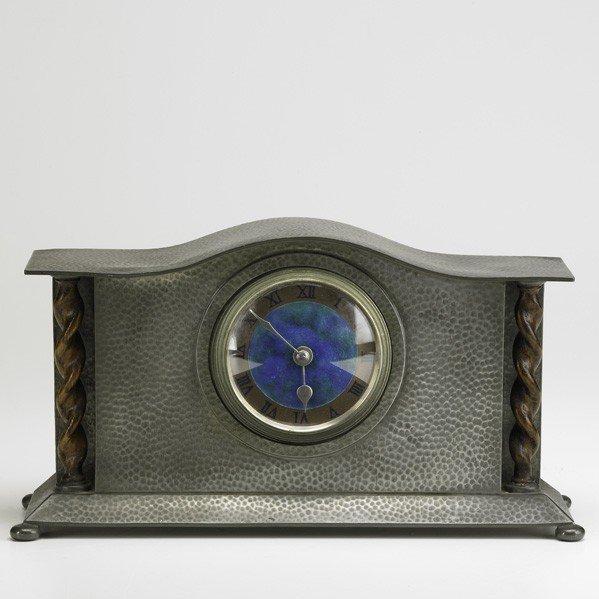 279: LIBERTY AND COMPANY; Tudric mantle clock