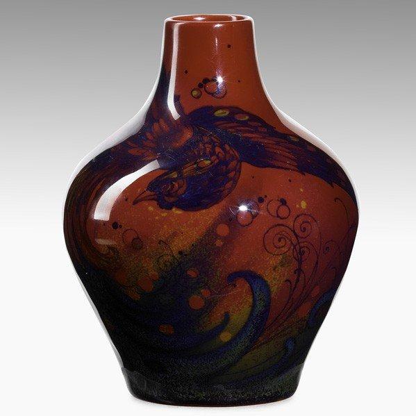 287: CHARLES NOKE; ROYAL DOULTON; Sung vase