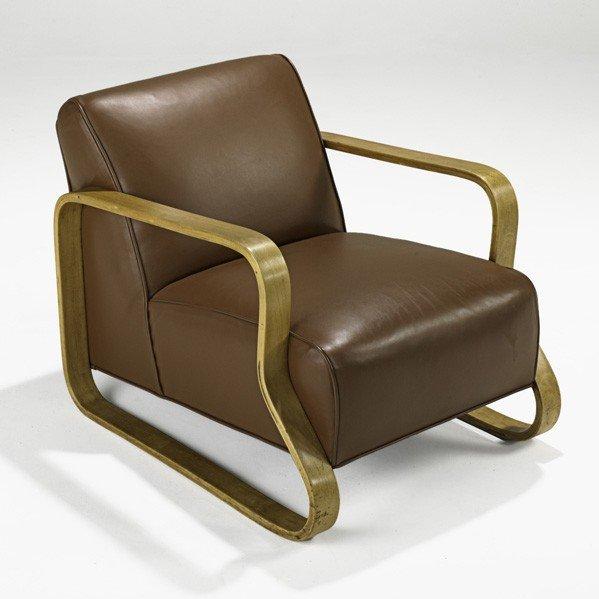 624: ALVAR AALTO; FINMAR; Lounge chair