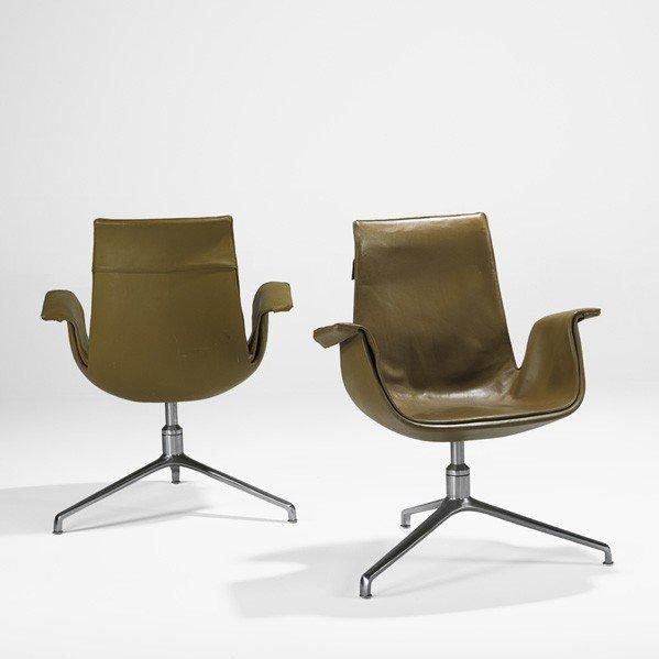636: PREBEN FABRICIUS AND JORGEN KASTHOLM; Bird chairs