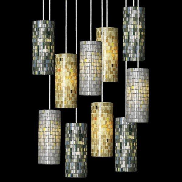 675: ITALIAN; Ten pendant lamps