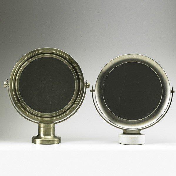 681: SERGIO MAZZA; Two mirrors