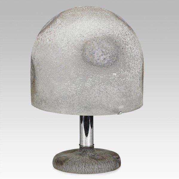 682: ALFREDO BARBINI; Table lamp