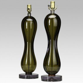 SEGUSO; Pair Of Table Lamps